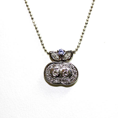 pendant necklace k18 mozeypictures Image collections